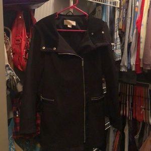 Black Micheal Kors coat